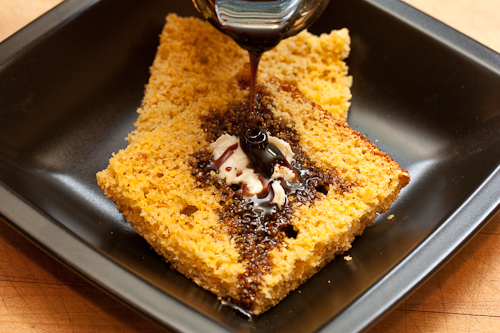 Corn, molasses, some sweet butter -- pass the hootch!