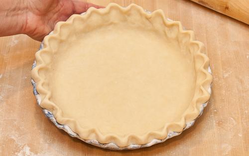 Homemade pie crust is worth the *slight* effort -- really